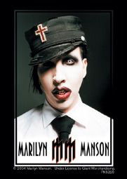 Portachiavi Marilyn Manson Uniform