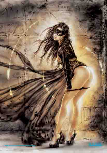 Bandiera Luis Royo - The Rough With The Smooth