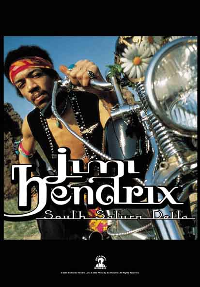 Bandiera Jimi Hendrix - South Saturn Delta
