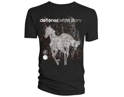 T-shirt Deftones Scratch Pony