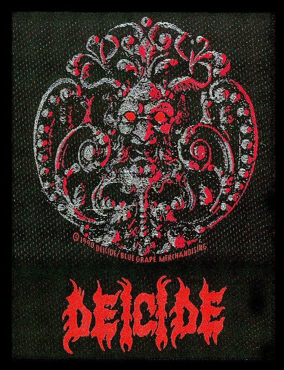 Patch Deicide Brooch
