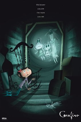 Poster Coraline - Ghosts