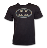 T-shirt Batman Classic Golden Embossed Logo