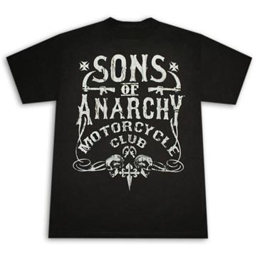 gadget sons of anarchy magliette t shirt e merchandising. Black Bedroom Furniture Sets. Home Design Ideas