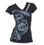 T-shirt Sons of Anarchy da donna