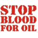 Stop Blood For Oil  Fanartikel