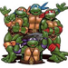 Tortues ninja Merchandising