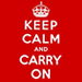 Keep Calm and Carry On Fanartikel
