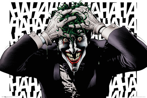 Image of Poster Supereroi DC Comics Killing Joke