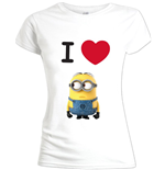 Image of Minions / Cattivissimo Me - I Love Minion (T-SHIRT Donna )