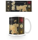 Image of Tazza Il trono di Spade (Game of Thrones) - Mappa