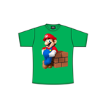 Image of Nintendo - Mario Block Green (T-SHIRT Unisex )