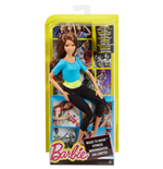 Image of Mattel DJY08 - Barbie Fashion And Beauty - Barbie Snodata Top Azzurro