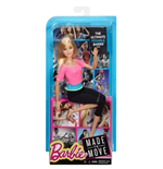 Image of Mattel DHL82 - Barbie Fashion And Beauty - Barbie Snodata Top Rosa