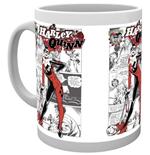 Image of Batman Comics - Harley Quinn Comic (Tazza)