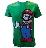 Image of Nintendo - Green Standing Mario (T-SHIRT Unisex )