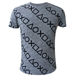 Image of T-shirt PlayStation - All over PlayStation Buttons