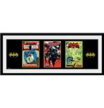 Image of Batman Comic - 3 Comics (Foto In Cornice 76x30 Cm)