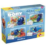 Image of Alla Ricerca Di Dory - Puzzle Double-Face Super 4x48 Pz