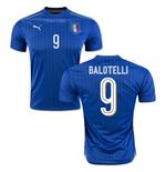 Image of Maglia Italia Home 2016/17 (Balotelli 9)
