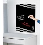 Image of Juventus lavagna nera adesiva Grafica