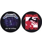 Image of Metallica - Kill 'Em All / Ride The Lightning (Tappetino Per Giradischi)