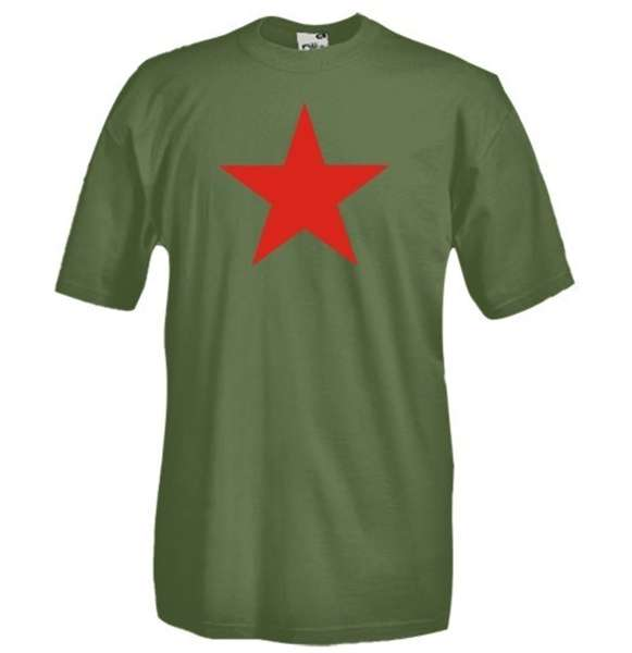 Red Star   Communism Tshirt