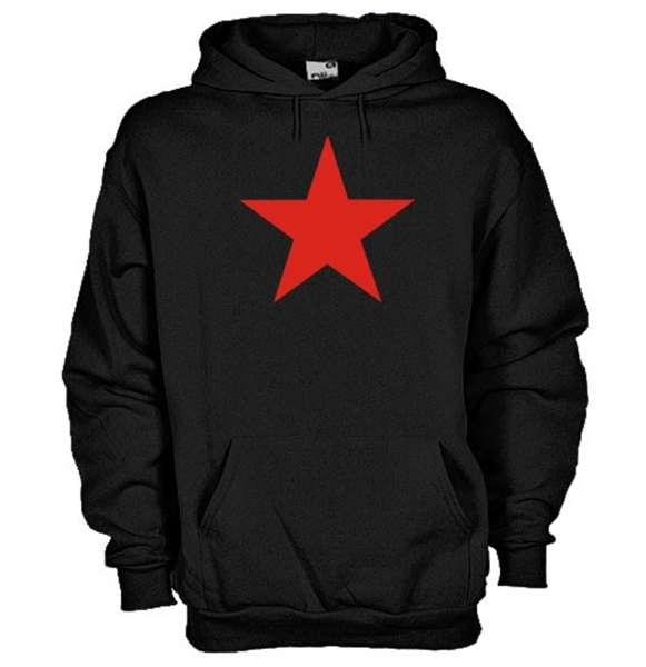 Red Star Communism Hoodie