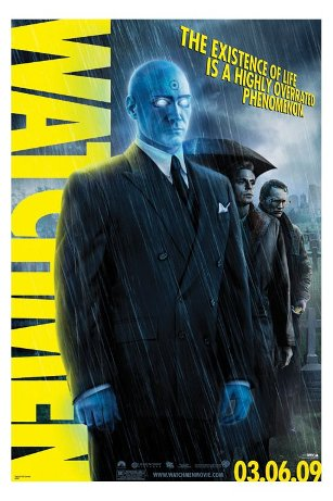 Image of Poster Watchmen DR. Manhattan
